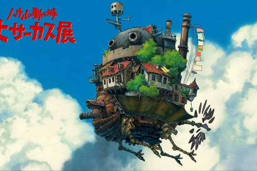 large howls moving castle wallpaper 1920x1080
