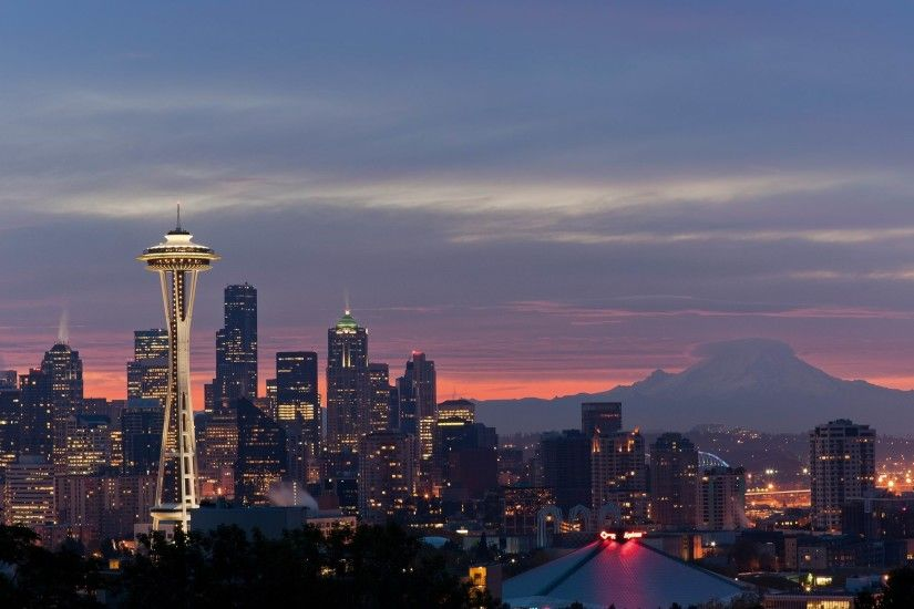 Sunrise , seattle, washington