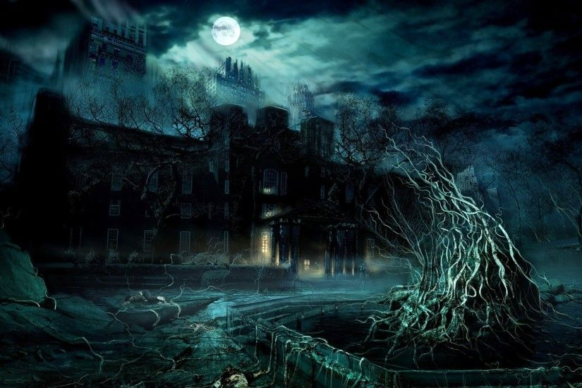 Dark Digital Art Wallpaper Desktop Background