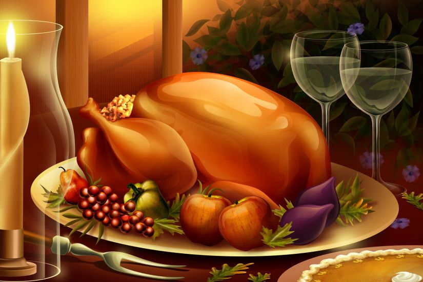 thanksgiving wallpapers dinner. Â«Â«