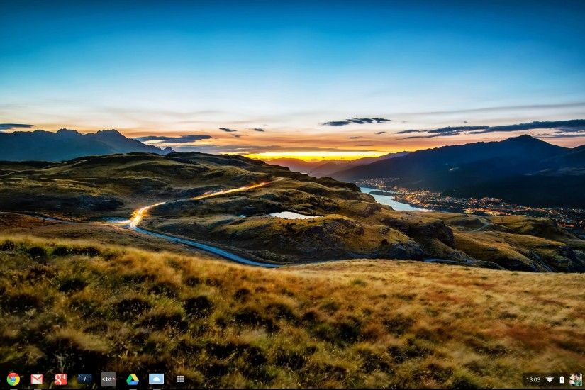 Google Chrome OS now comes with brand new wallpapers from Trey Ratcliff and  Greg Spencer