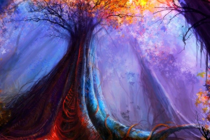 enchanting forests mac background - Google Search