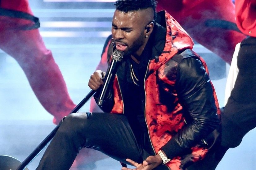 "Jason Derulo Performs ""Get Ugly"" & ""Want To Want Me"" At 2016 People's  Choice Awards - YouTube"