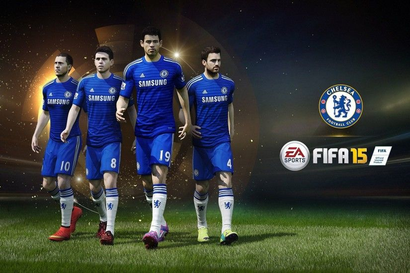 FIFA 15 Chelsea FC Poster Wallpaper Wide or HD | Games Wallpapers