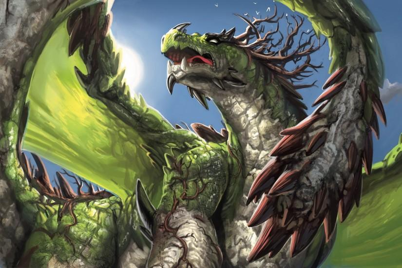 dragons green | Green dragon Wallpapers Pictures Photos Images