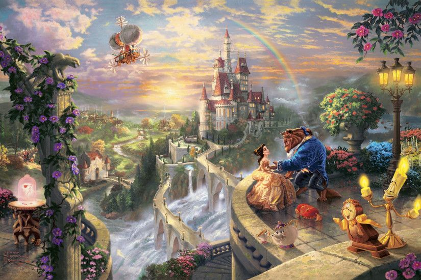 Thomas Kinkade Disney Wallpaper Thomas kinkade.