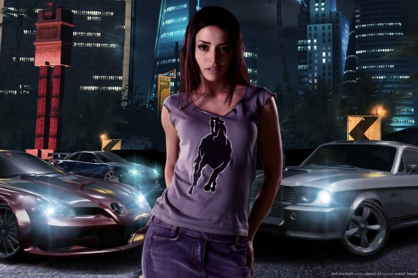 Need For Speed, Need For Speed: Carbon, Car, Vehicle, Video Games,  Emmanuelle Vaugier Wallpapers HD / Desktop and Mobile Backgrounds