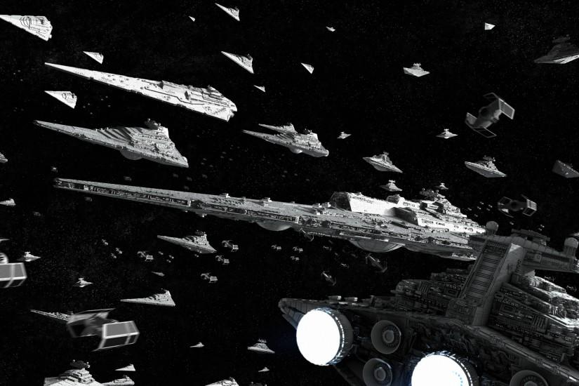 Star Wars Imperial Fleet for 2560x1440