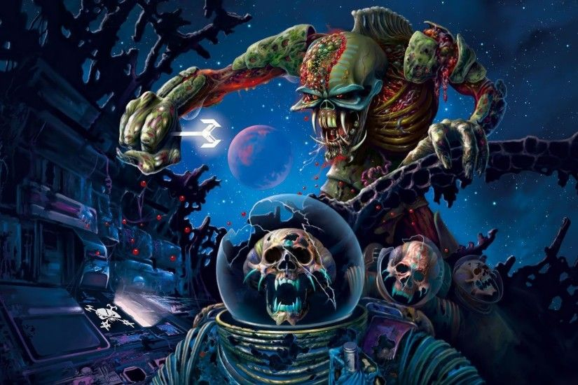 Desktop Wallpaper · Celebrities · Music · Iron Maiden Heavy metal .