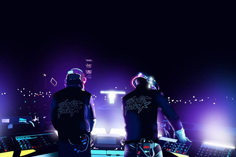 Daft Punk HD Desktop Wallpaper