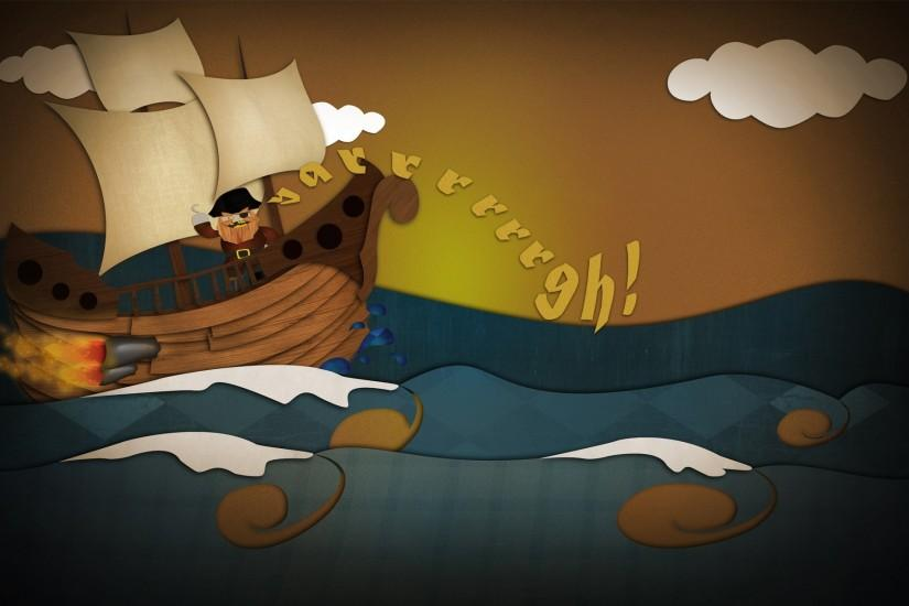 pirate-ship-art-cartoon-hd-wallpaper - Magic4Walls.com