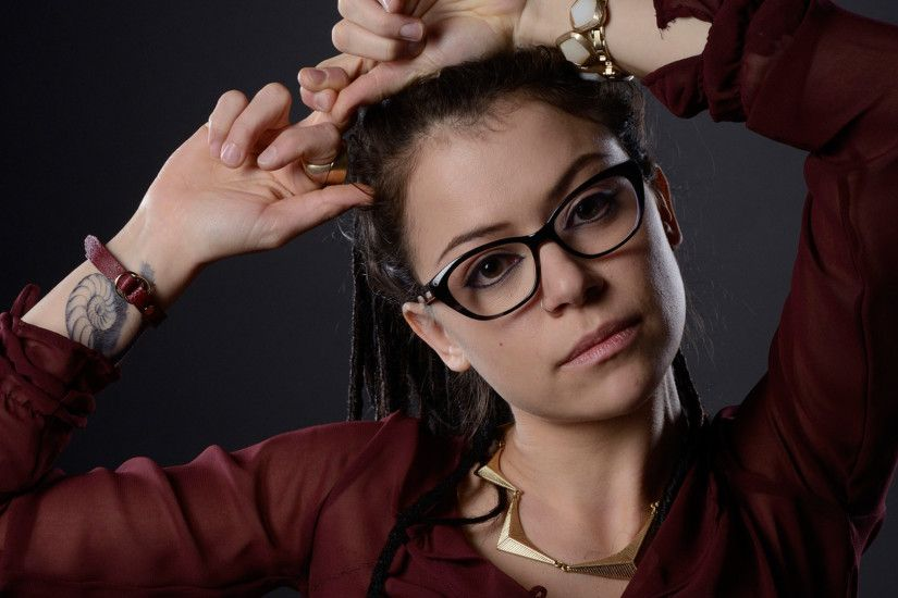Actress Brunettes Characters Close Up Glasses Tatiana Maslany Tattoos ...
