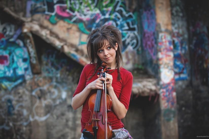 Curious Lindsey Stirling for 1920x1080