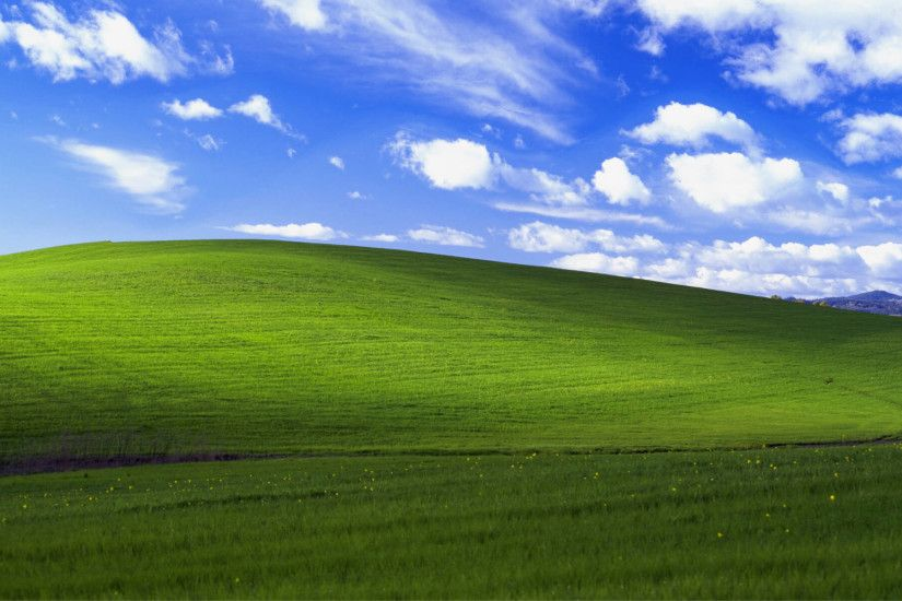 Windows XP Original Background Wallpaper