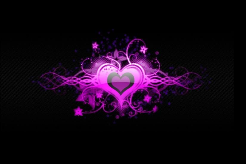 Pink Heart Wallpaper 822024