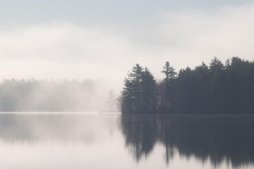 1575 0: Browning Calming Lake Landscape iPad wallpaper