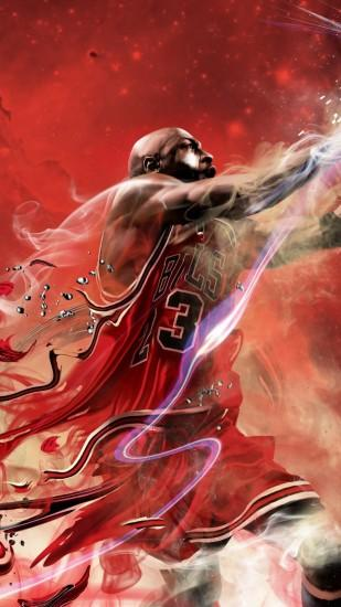 widescreen michael jordan wallpaper 1080x1920 for tablet