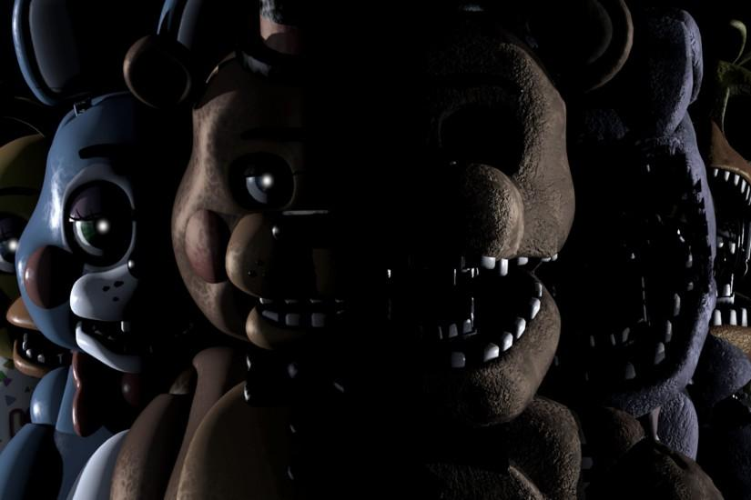 best five nights at freddys wallpaper 1920x1080 phone