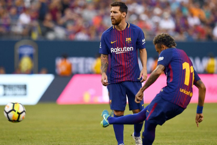 ... HD Images & Pictures Lionel Messi & Neymar FC Barcelona Strikers  Wallpapers ...