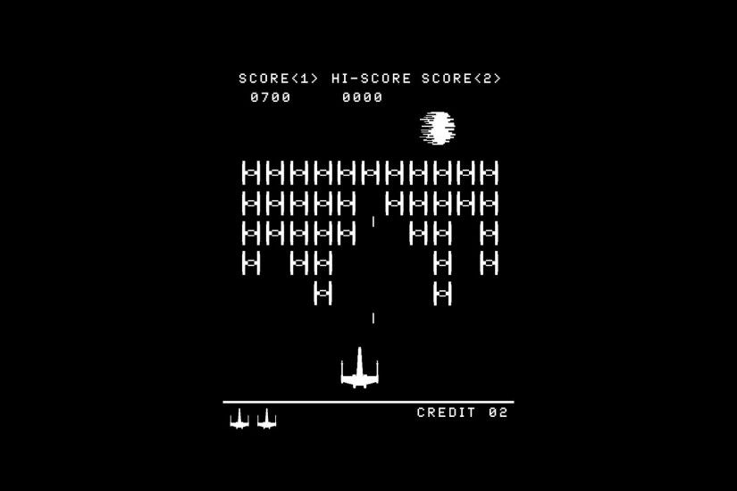 Abstract star wars arcade death star video space invaders atari solid  simplistic simple wallpaper | 1920x1080 | 85239 | WallpaperUP