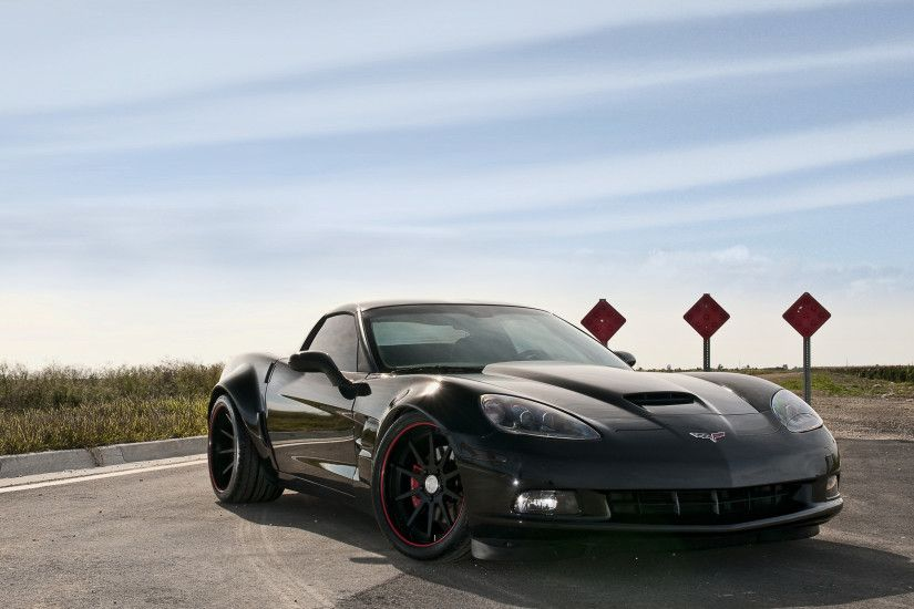 Corvette Stingray Black Wallpaper HD Wallpaper with 2560x1600 .