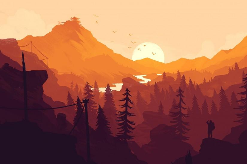 download free firewatch wallpaper 2560x1440 hd for mobile