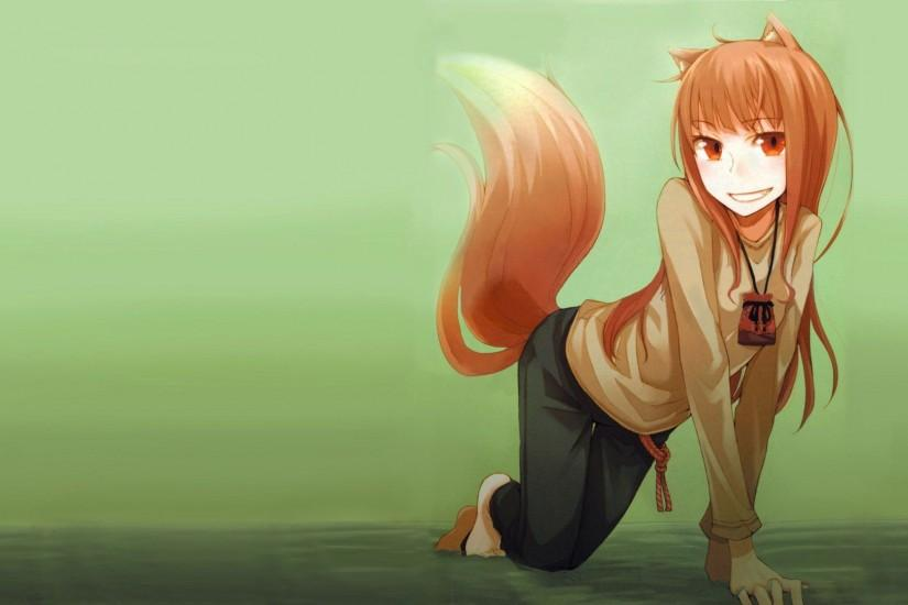Holo - Spice and Wolf wallpaper - 1083070