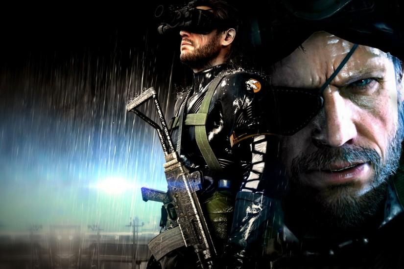 General 1920x1080 video games Metal Gear Solid V: Ground Zeroes Big Boss  collage artwork digital