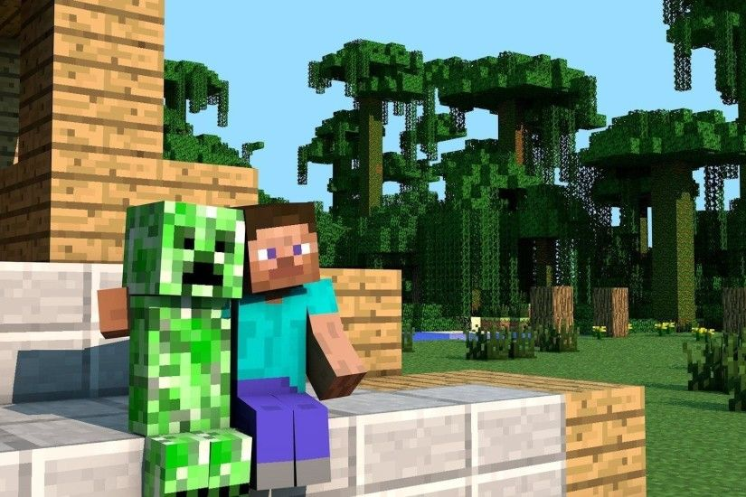 Minecraft Creeper wallpaper - 1219819