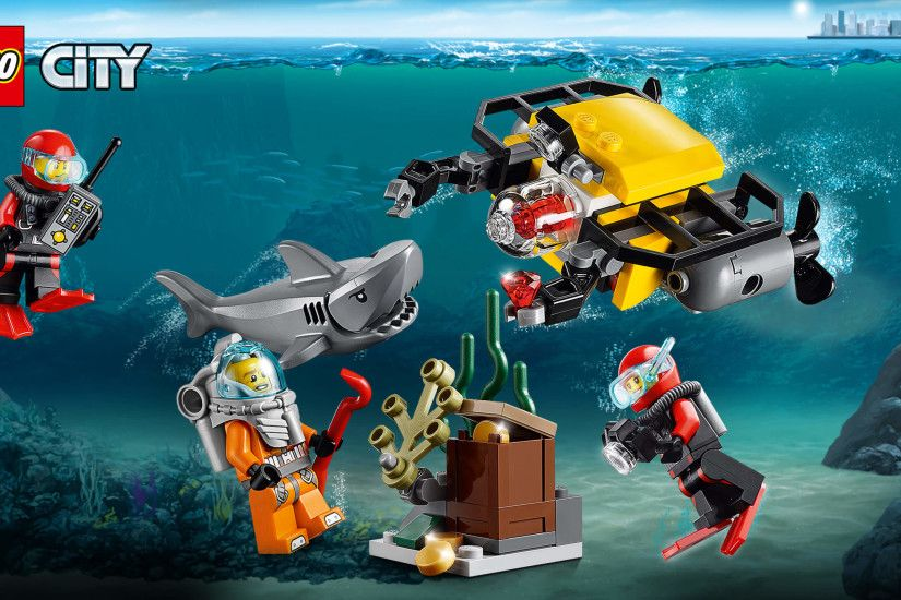 60091 Deep Sea Starter Set. Landscape · Portrait