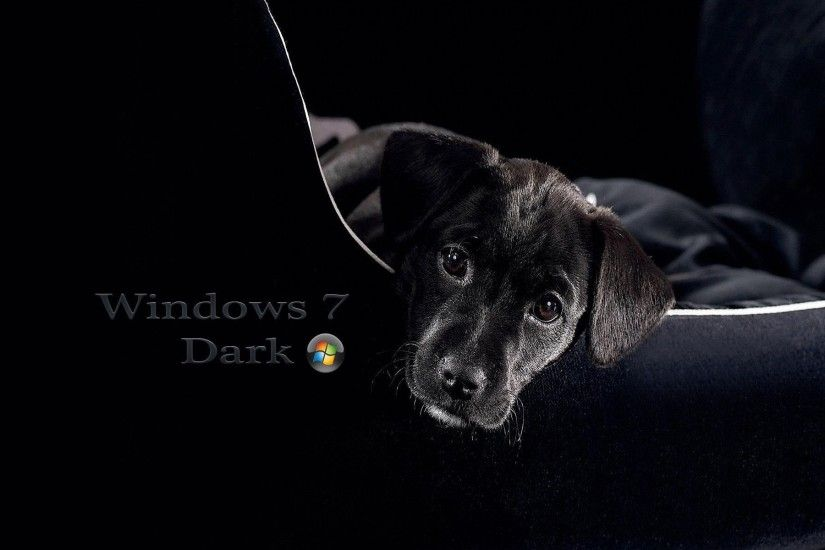 Windows 7 Black and Dark HD Wallpapers | Wallpapers