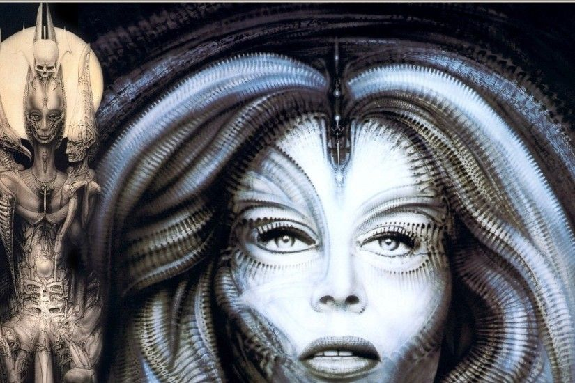 hr giger 1280x1024 wallpaper Art HD Wallpaper