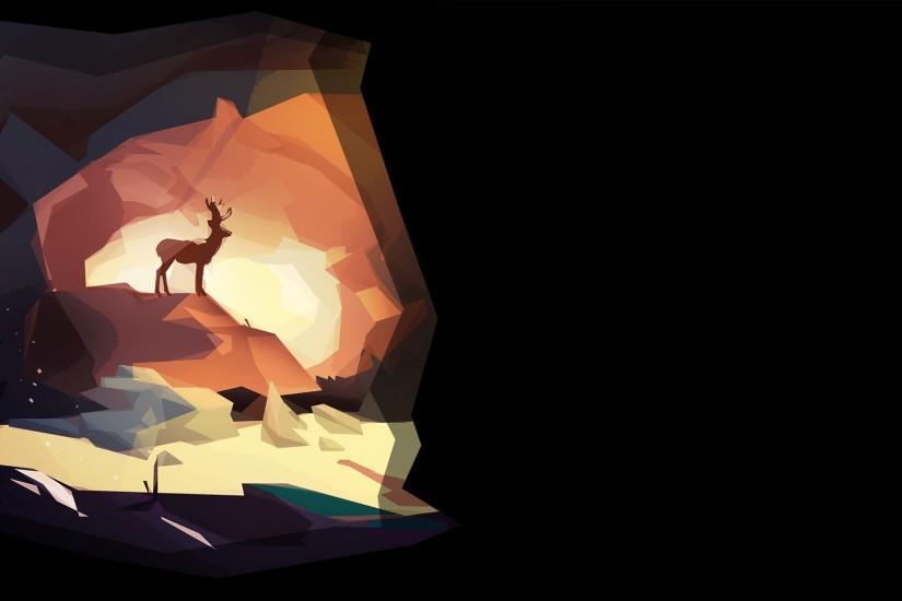 File:The Deer God Background Cave.jpg