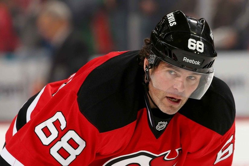 3840x2160 Wallpaper jaromir jagr, hockey player, striker, new jersey devils