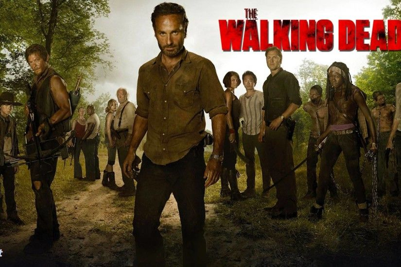 THE WALKING DEAD (2013) Tv Show HD Wallpapers | Crazy Themes