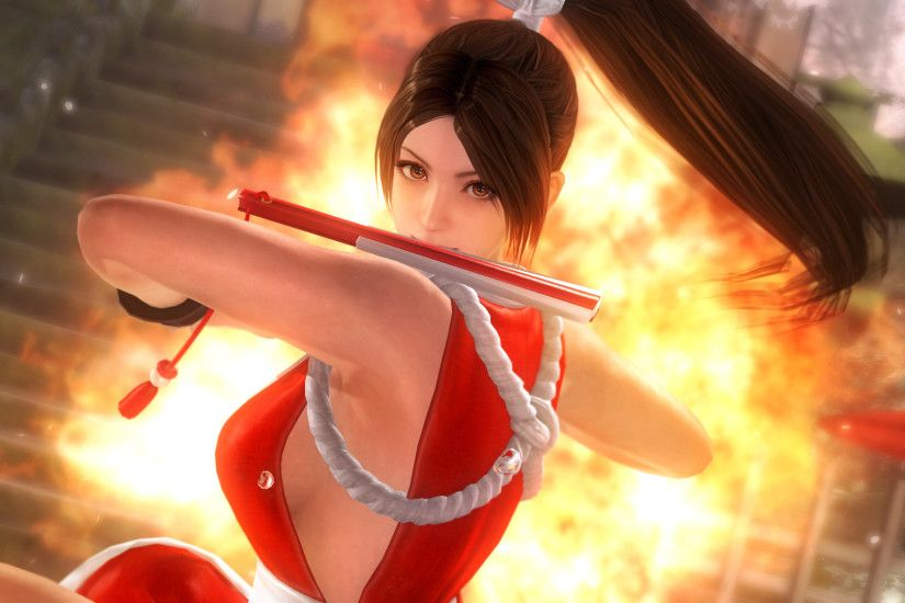 Sexy Mai Shiranui and KOF'd Destructible Costumes Shine in Dead or Alive 5  Screenshots and Trailer