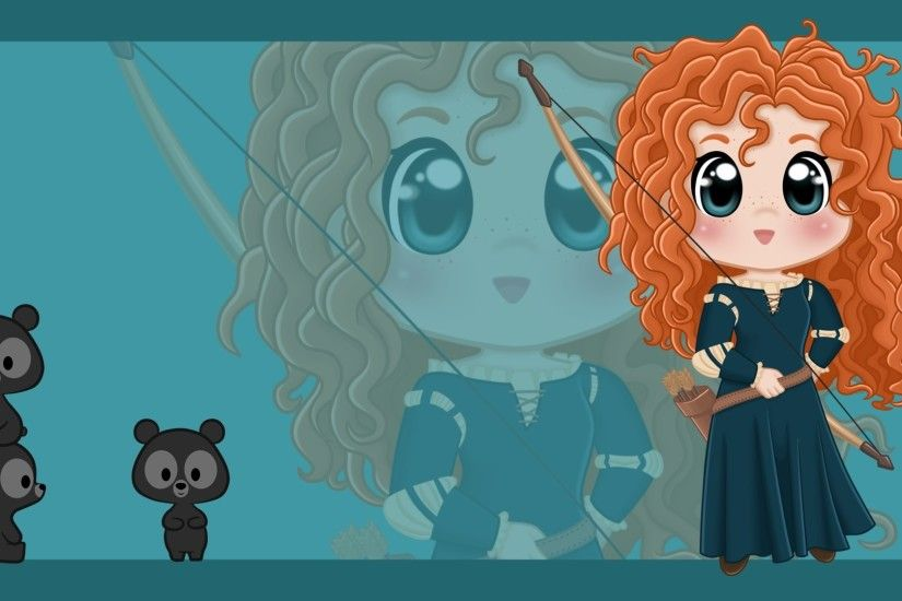 merida - Disney Princess Wallpaper (37202690) - Fanpop