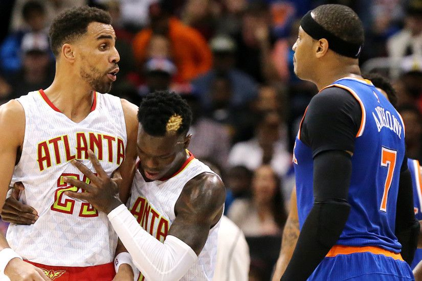 NBA roundup: Carmelo Anthony ejected early in Knicks' overtime loss to  Hawks - LA Times