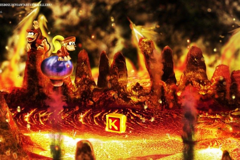 Donkey Kong Country 2: Diddy's Kong Quest Full HD Wallpaper and .