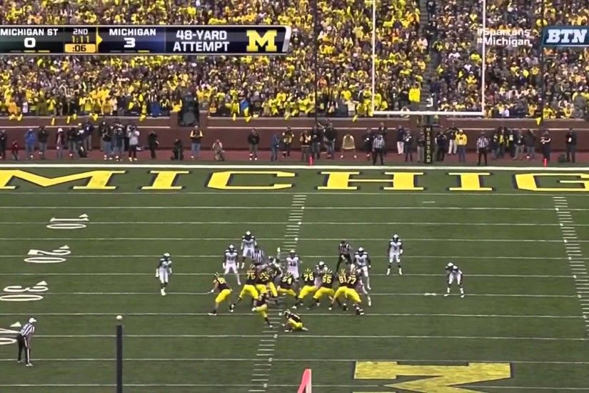 Michigan Wolverines Football: 900th Win Michigan Wolverines vs MSU Spartans  10-20-12