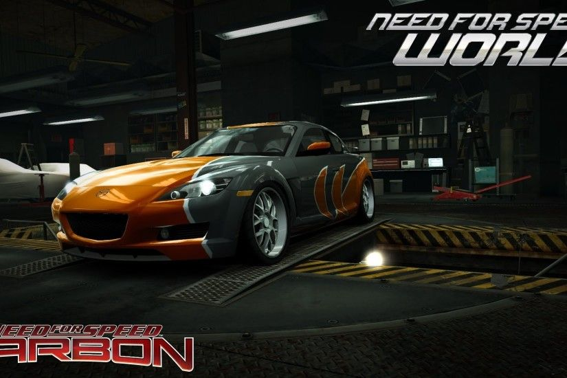Need For Speed World Mazda Rx 8 Rotor 4 (NFS Carbon Bonus car) - YouTube