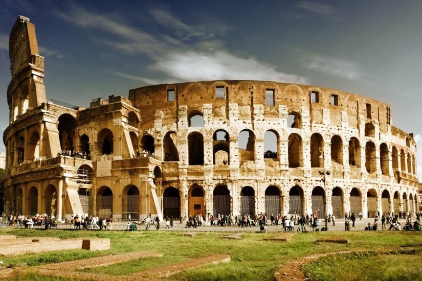 Preview wallpaper italy, rome, colosseum, architecture 1920x1080