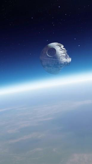 Space Deathstar GalaxyWallpaper