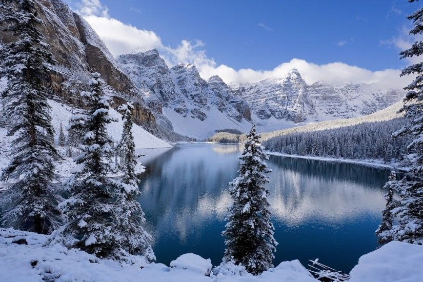 snowy mountains background hd