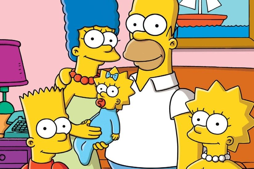 The Simpsons Homer Simpson Family 1080p HD Wallpaper Background