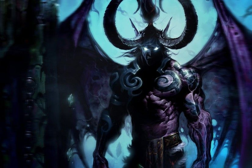 Tags: Anime, Warcraft, Illidan Stormrage, Wallpaper