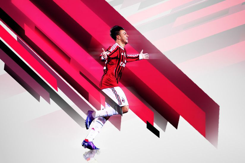 SKL7 9 1 El Shaarawy wallpaper by SKL7