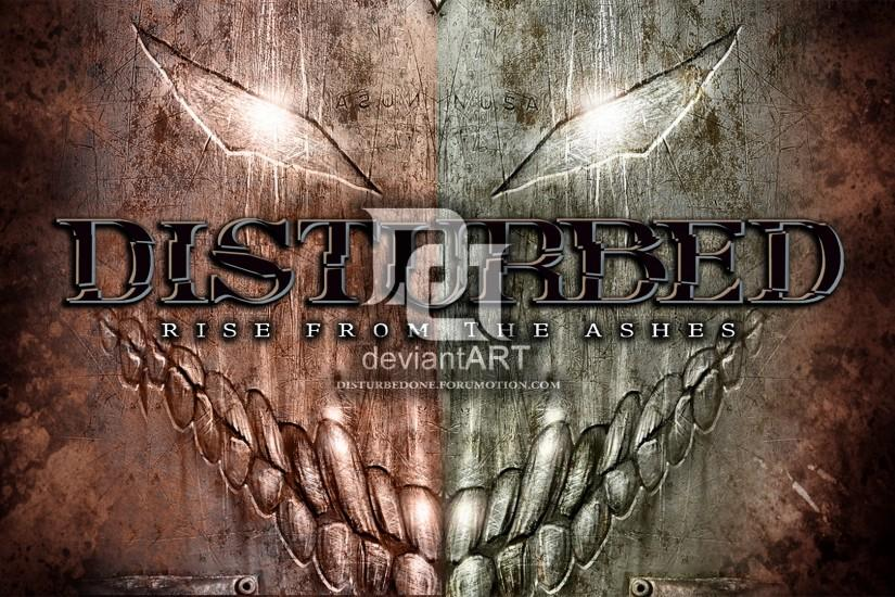 Disturbed - Rise From The Ashes by morbustelevision2