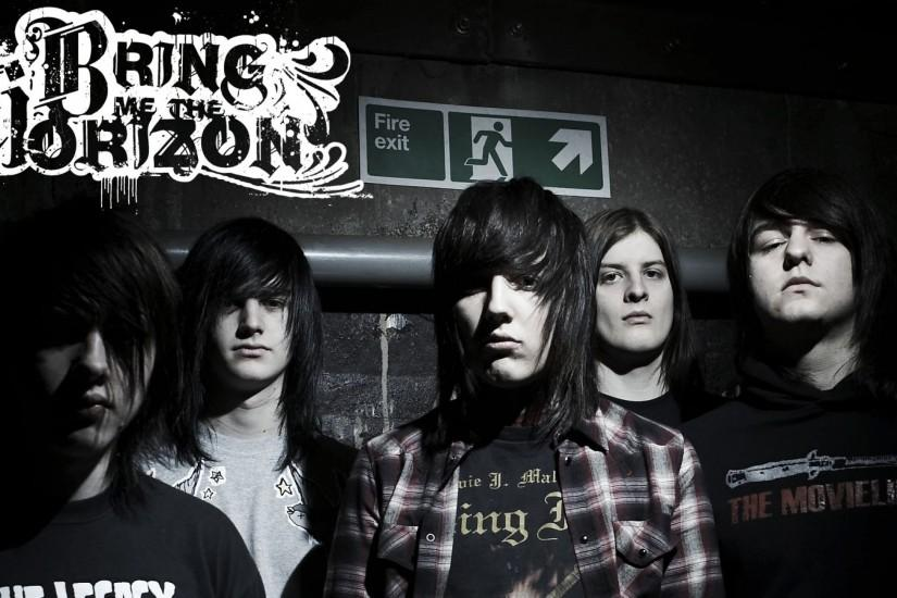 Preview wallpaper bring me the horizon, hair, look, exit, pipe 3840x2160