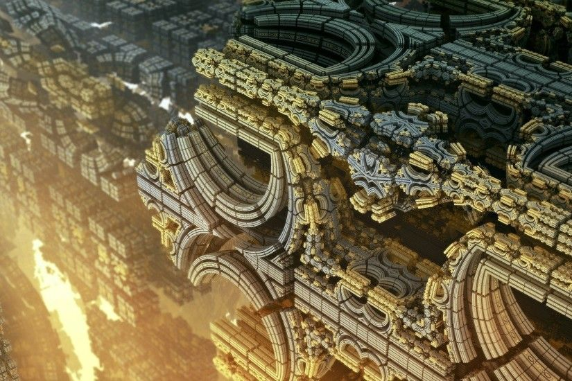 3D, Abstract, Fractal, Geometry, CGI Wallpapers HD / Desktop and Mobile  Backgrounds
